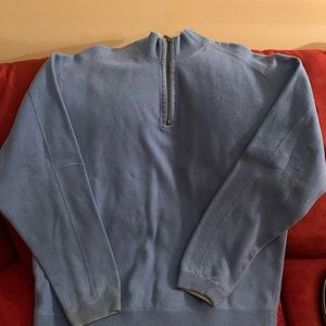 Tommy Bahama 1/4 pullover reversible